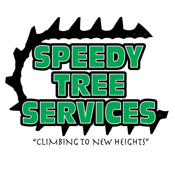 speedy tree services dfw logo